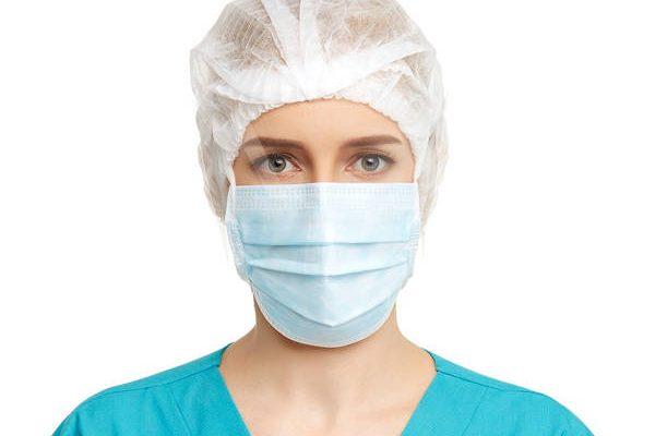 پارچه اسپان باند ماسک سه لایه